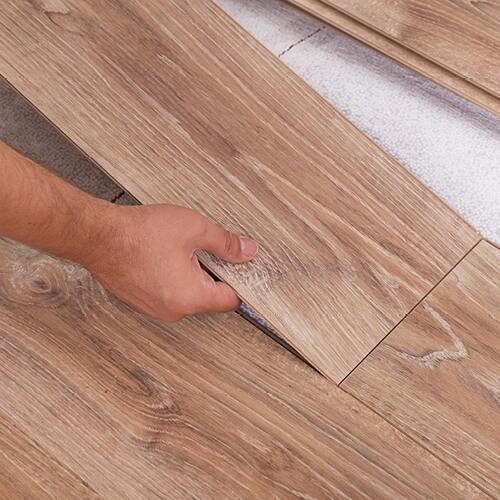 Laminate flooring installation | Barrett Floors