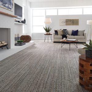 Living room carpet flooring   Barrett Floors