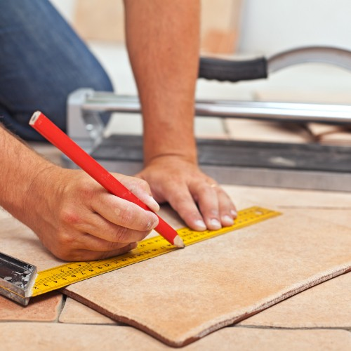 Tile installation | Barrett Floors