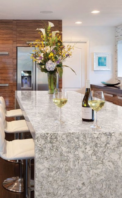 Cambria countertop | Barrett Floors