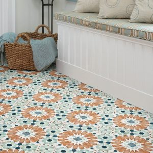 Islander Deco Tile Flooring garden way | Barrett Floors