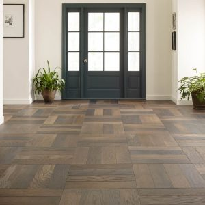 Old world herringbon hanover flooring | Barrett Floors