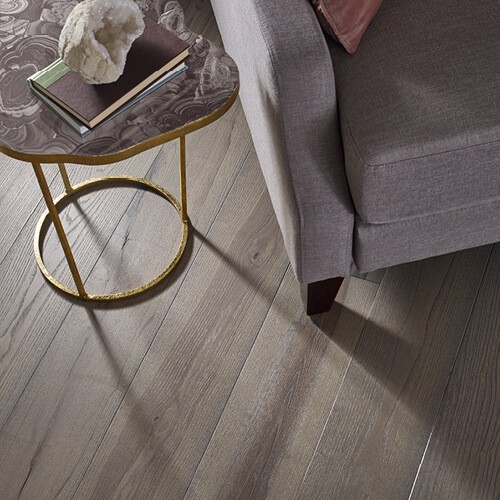 Transcendent bedroom of wood flooring | Barrett Floors