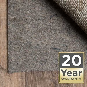 20 year warranty Area Rug pads | Barrett Floors
