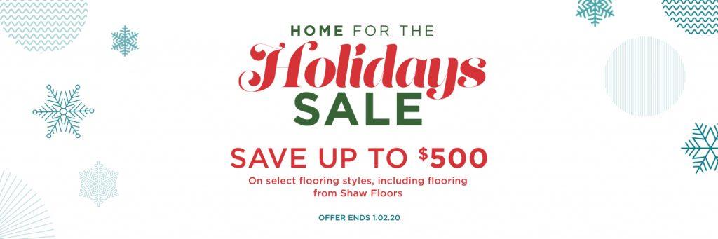 Holidays sale | Barrett Floors