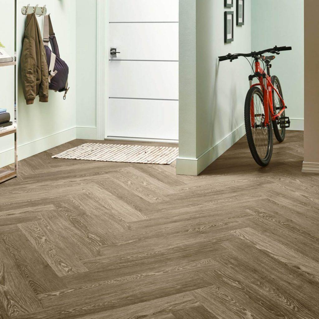 Bicycle on flooring | Barrett Floors