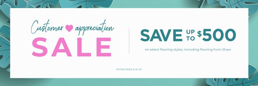 Customer Appreciation Sale | Barrett Floors