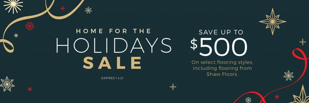 Home For the holiday sale | Barrett Floors